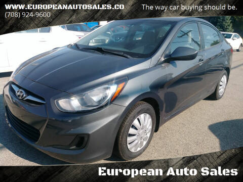 2013 Hyundai Accent for sale at European Auto Sales in Bridgeview IL