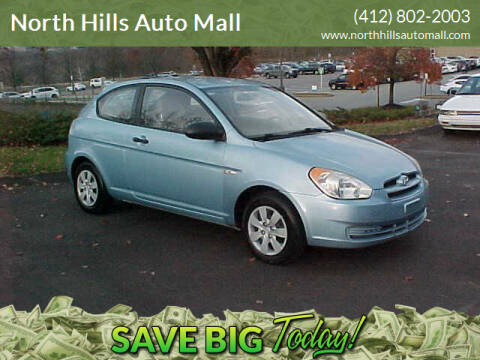 2009 Hyundai Accent for sale at North Hills Auto Mall in Pittsburgh PA