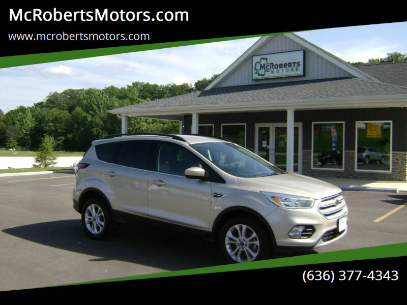 2018 Ford Escape for sale at McRobertsMotors.com in Warrenton MO