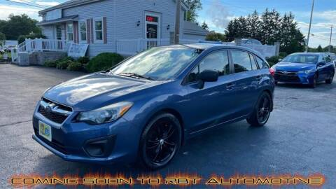 2012 Subaru Impreza for sale at RBT Automotive LLC in Perry OH
