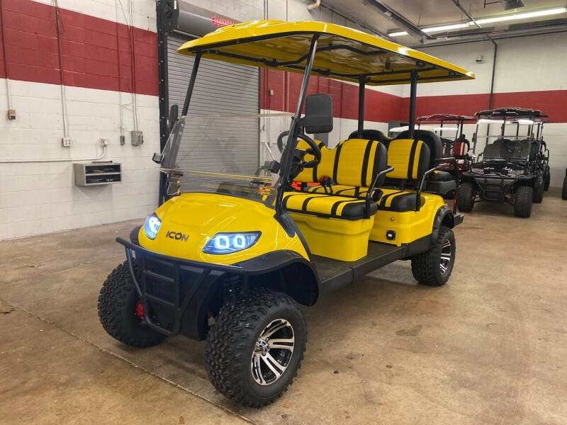 2020 Icon i60L 6 Seater Lifted Golf Cart for sale at Columbus Powersports - Golf Carts in Columbus OH