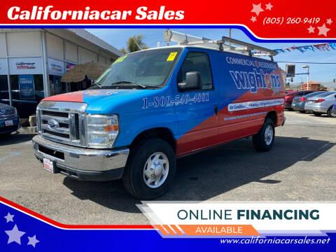 2012 Ford E-Series Cargo for sale at Californiacar Sales in Santa Maria CA