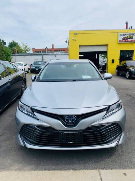2018 Toyota Camry Hybrid for sale at Hartford Auto Center in Hartford CT