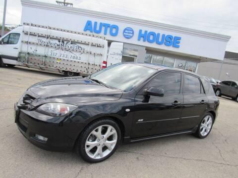 2008 Mazda MAZDA3 for sale at Auto House Motors in Downers Grove IL