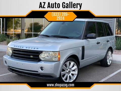 2007 Land Rover Range Rover for sale at AZ Auto Gallery in Mesa AZ