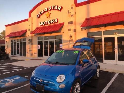 2015 FIAT 500 for sale at Gold Star Motors Inc. in San Antonio TX