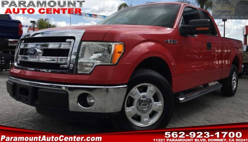 2013 Ford F-150 for sale at PARAMOUNT AUTO CENTER in Downey CA