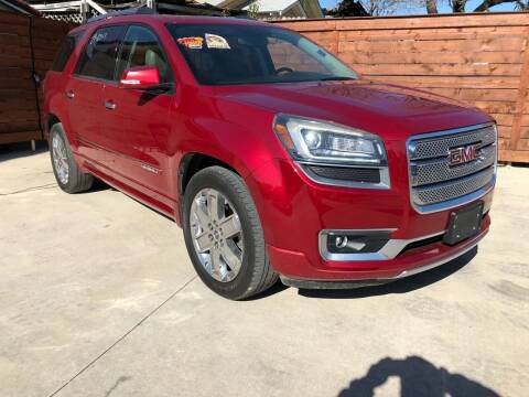 2013 GMC Acadia for sale at Speedway Motors TX in Fort Worth TX