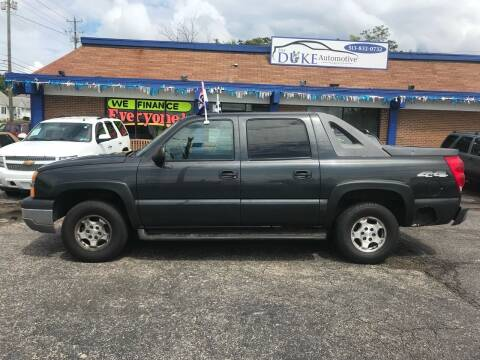 2004 Chevrolet Avalanche for sale at Duke Automotive Group in Cincinnati OH