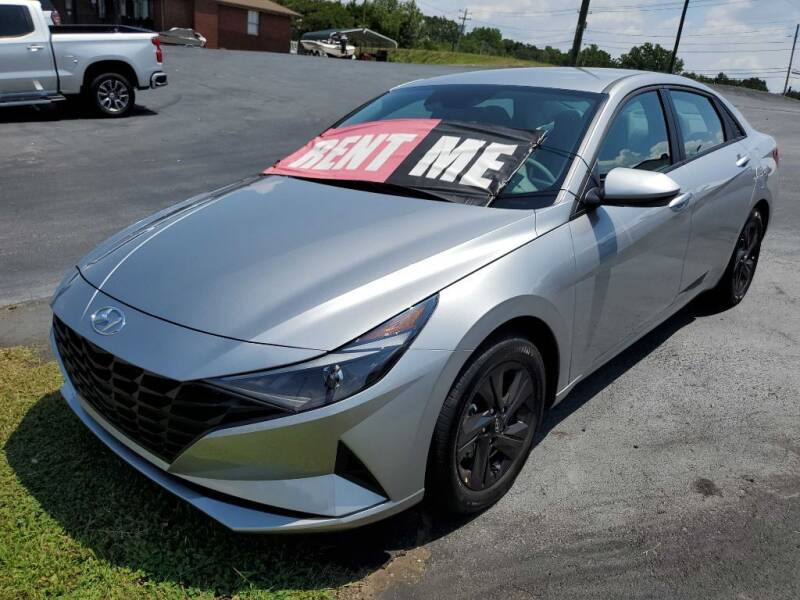 2022 Hyundai Elantra for sale at THE TRAIN AUTO SALES & RENTALS in Taylors SC