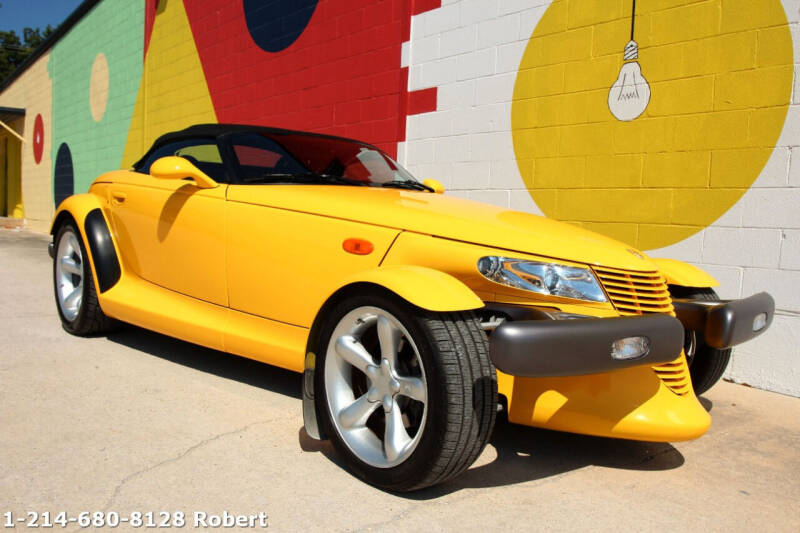 1999 Plymouth Prowler for sale at Mr. Old Car in Dallas TX