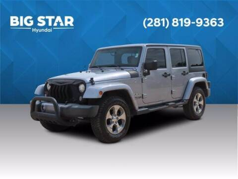 2018 Jeep Wrangler JK Unlimited for sale at BIG STAR HYUNDAI in Houston TX