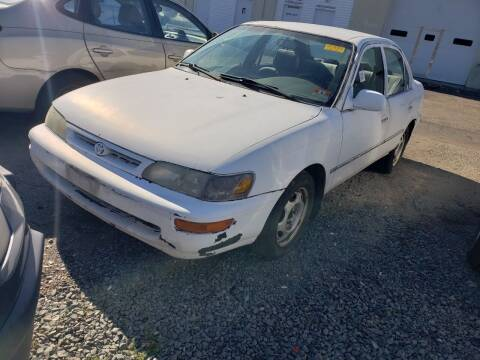 1996 Toyota Corolla for sale at CRS 1 LLC in Lakewood NJ