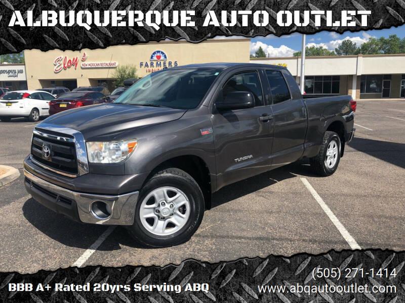 2012 Toyota Tundra for sale at ALBUQUERQUE AUTO OUTLET in Albuquerque NM