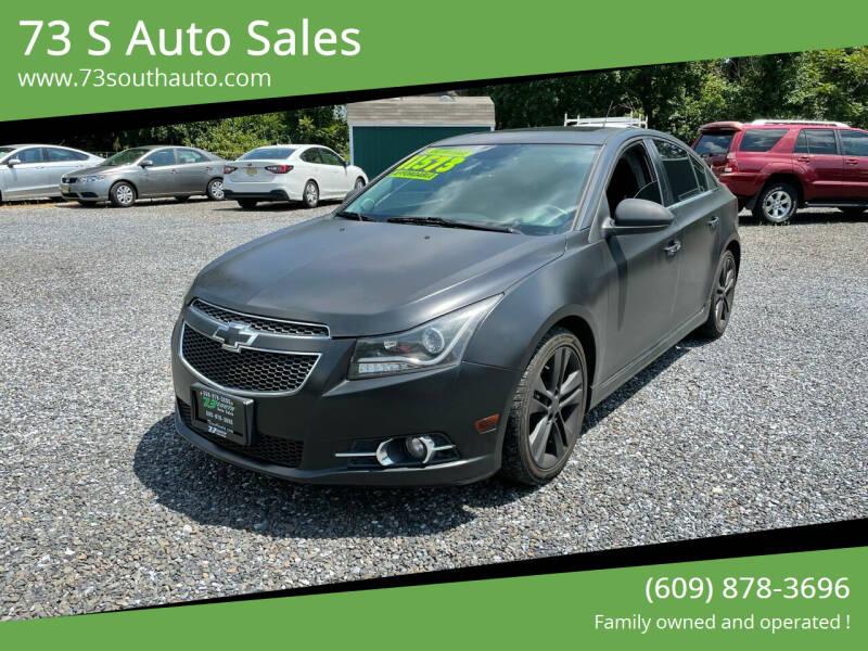 2014 Chevrolet Cruze for sale at 73 S Auto Sales in Hammonton NJ