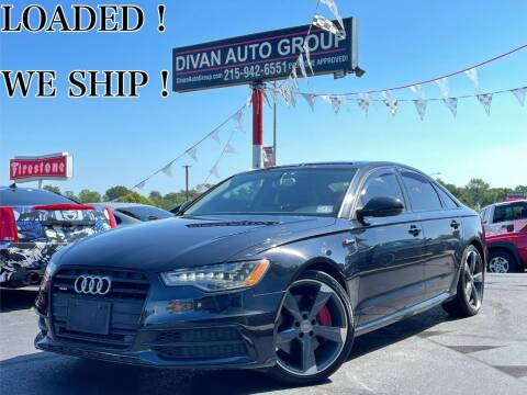 2014 Audi A6 for sale at Divan Auto Group in Feasterville Trevose PA