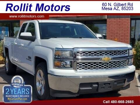 2014 Chevrolet Silverado 1500 for sale at Rollit Motors in Mesa AZ
