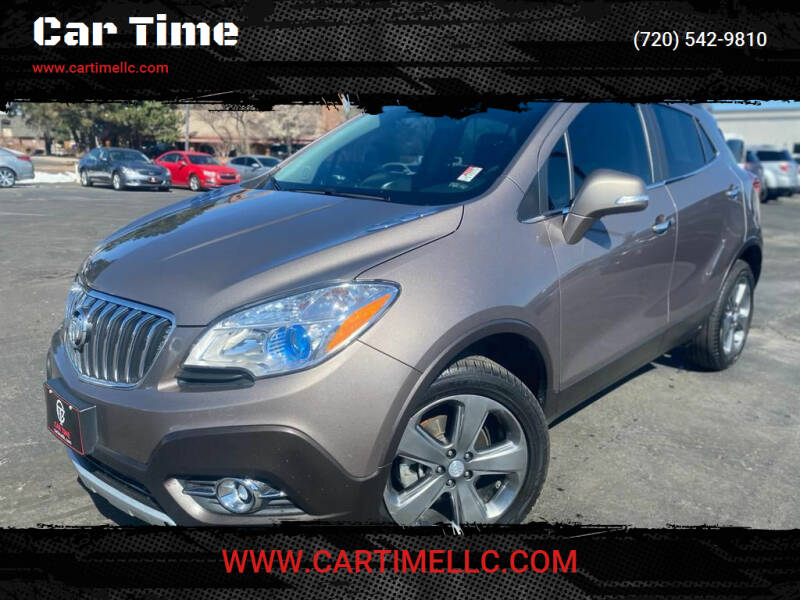 2014 Buick Encore for sale at Car Time in Denver CO
