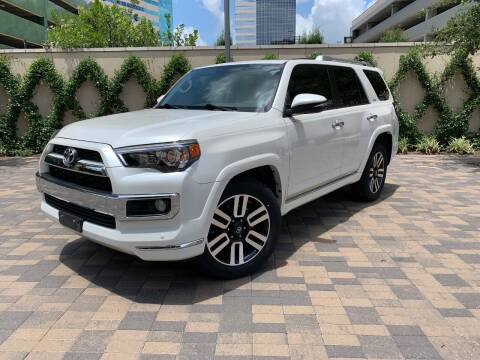 2016 Toyota 4Runner for sale at ROGERS MOTORCARS in Houston TX