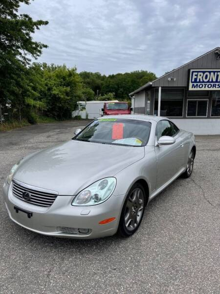 2002 Lexus SC 430 for sale at Frontline Motors Inc in Chicopee MA