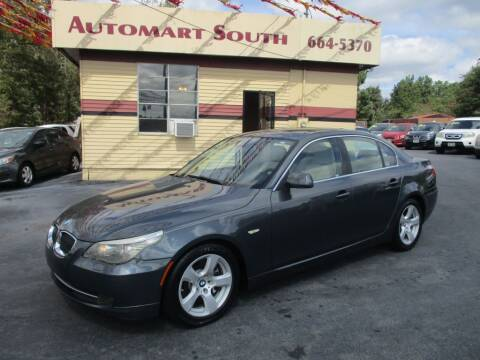 2008 BMW 5 Series for sale at Automart South in Alabaster AL