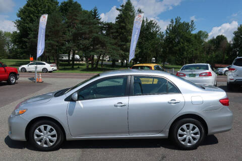 2011 Toyota Corolla for sale at GEG Automotive in Gilbertsville PA
