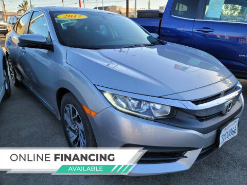 2017 Honda Civic for sale at ZOOM CARS LLC in Sylmar CA