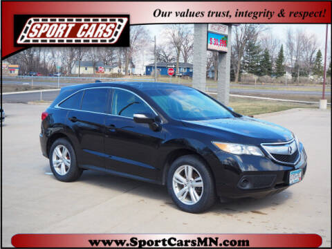 2015 Acura RDX for sale at SPORT CARS in Norwood MN