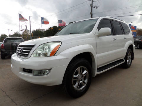 2008 Lexus GX 470 for sale at West End Motors Inc in Houston TX