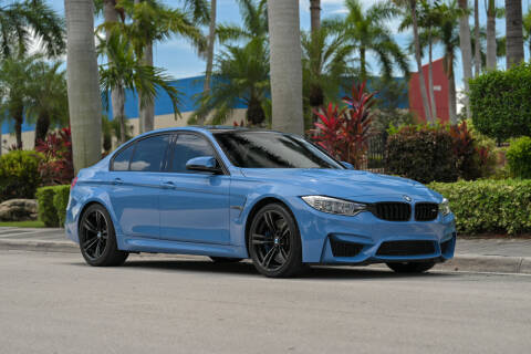 2015 BMW M3 for sale at EURO STABLE in Miami FL