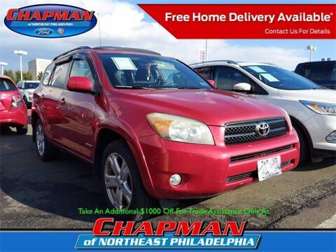 2007 Toyota RAV4 for sale at CHAPMAN FORD NORTHEAST PHILADELPHIA in Philadelphia PA