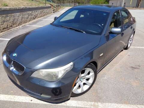 2008 BMW 5 Series for sale at GA Auto IMPORTS  LLC in Buford GA