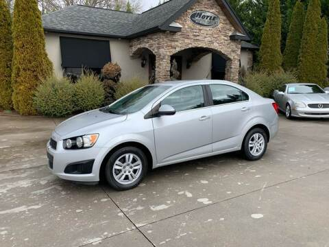 2014 Chevrolet Sonic for sale at Hoyle Auto Sales in Taylorsville NC