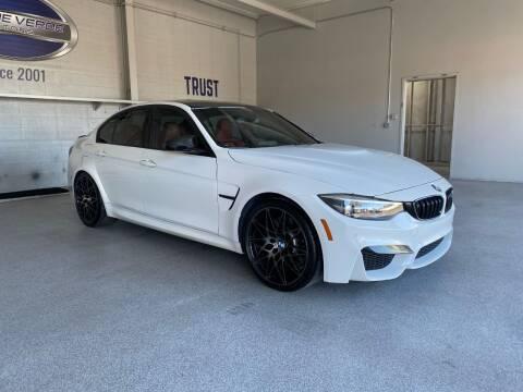 2018 BMW M3 for sale at TANQUE VERDE MOTORS in Tucson AZ