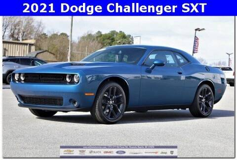 2021 Dodge Challenger for sale at WHITE MOTORS INC in Roanoke Rapids NC