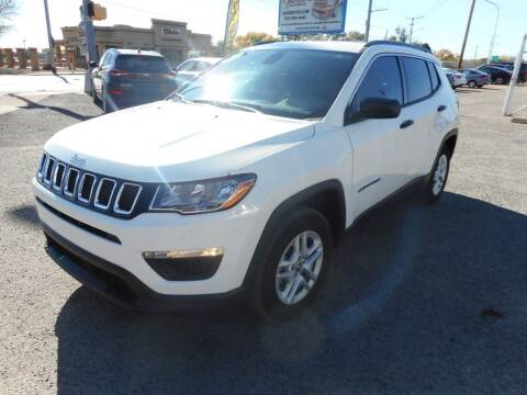 2020 Jeep Compass for sale at AUGE'S SALES AND SERVICE in Belen NM
