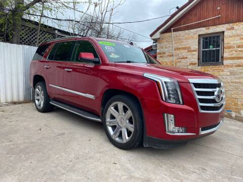 2015 Cadillac Escalade for sale at Speedway Motors TX in Fort Worth TX