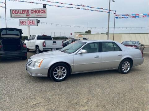 2010 Cadillac DTS for sale at Dealers Choice Inc in Farmersville CA