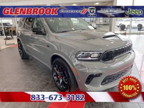 2021 Dodge Durango for sale at Glenbrook Dodge Chrysler Jeep Ram and Fiat in Fort Wayne IN
