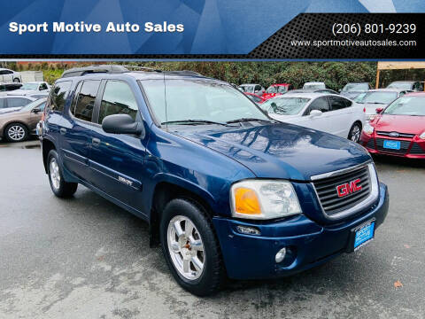 2003 GMC Envoy XL for sale at Sport Motive Auto Sales in Seattle WA