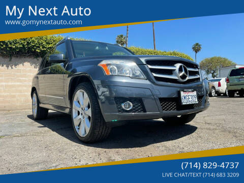 2010 Mercedes-Benz GLK for sale at My Next Auto in Anaheim CA