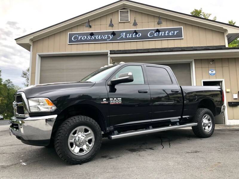 2016 RAM Ram Pickup 3500 for sale at CROSSWAY AUTO CENTER in East Barre VT