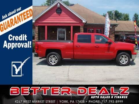 2015 Chevrolet Silverado 1500 for sale at Better Dealz Auto Sales & Finance in York PA