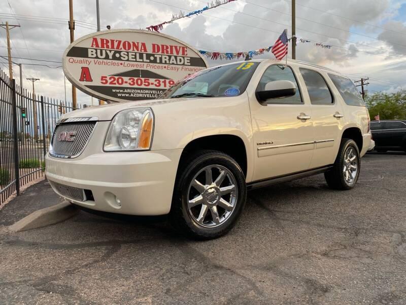 2013 GMC Yukon for sale at Arizona Drive LLC in Tucson AZ