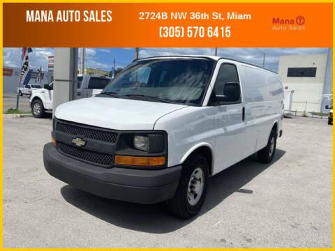 2014 Chevrolet Express Cargo for sale at MANA AUTO SALES in Miami FL