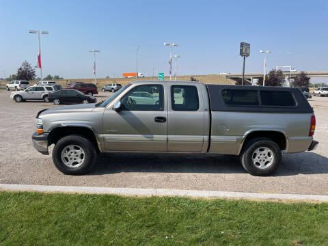 2002 Chevrolet Silverado 1500 for sale at GILES & JOHNSON AUTOMART in Idaho Falls ID