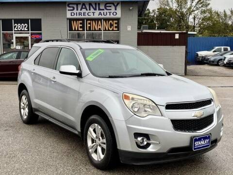 2011 Chevrolet Equinox for sale at Stanley Automotive Finance Enterprise - STANLEY DIRECT AUTO in Mesquite TX