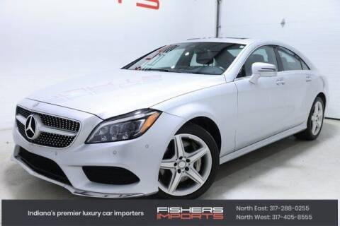 2016 Mercedes-Benz CLS for sale at Fishers Imports in Fishers IN