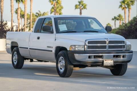 1999 Dodge Ram Pickup 2500 for sale at Euro Auto Sales in Santa Clara CA