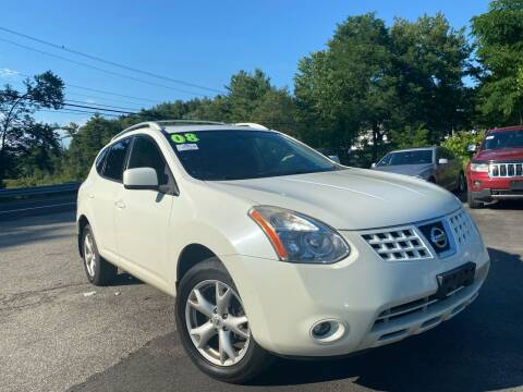 2008 Nissan Rogue for sale at Royal Crest Motors in Haverhill MA